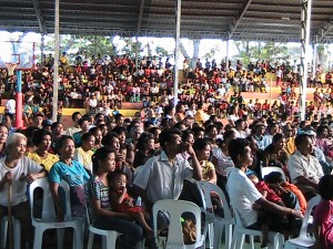 Crowd Pictures at Guihulngan