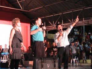 Preaching at Music and Miracle Festival